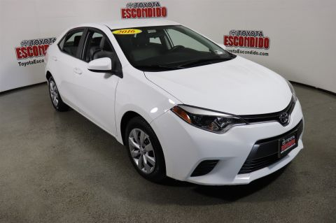 Certified Pre Owned 2016 Toyota Corolla