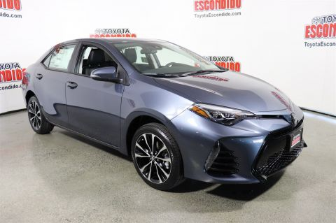 New 2018 Toyota Corolla SE 4dr Car