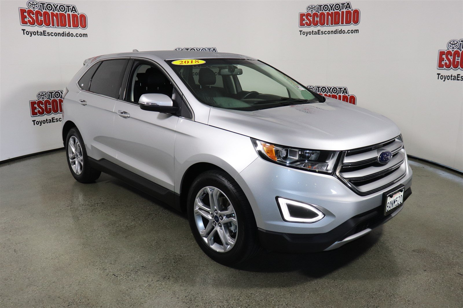 pre owned 2018 ford edge titanium sport utility in. Black Bedroom Furniture Sets. Home Design Ideas