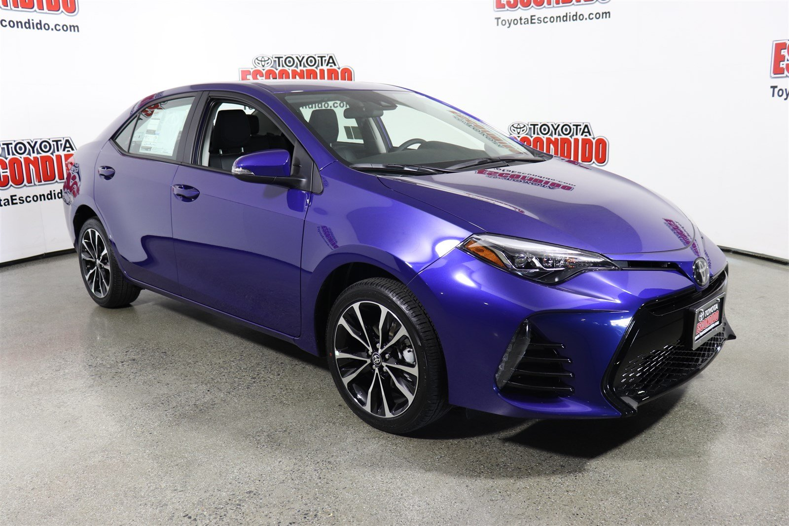 New 2019 Toyota Corolla Xse 4dr Car In Escondido 1019601 Toyota