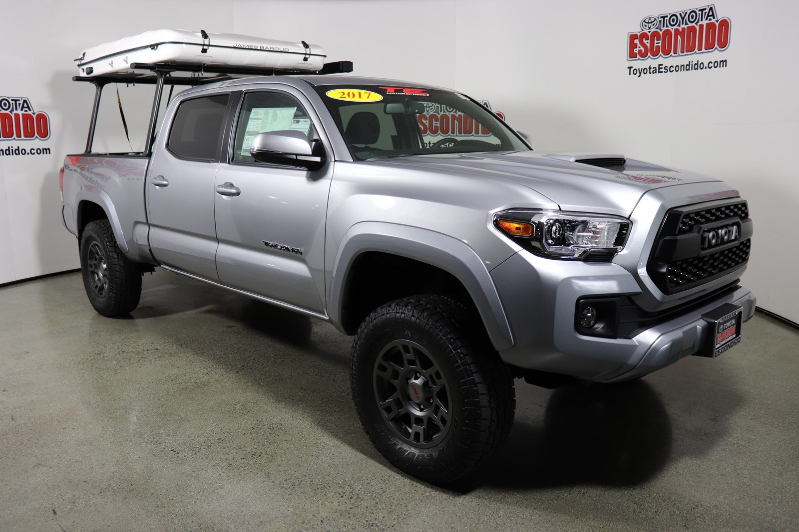 New 2017 Toyota Tacoma TRD Sport & New 2017 Toyota Tacoma TRD Sport Double Cab Pickup in Escondido ...