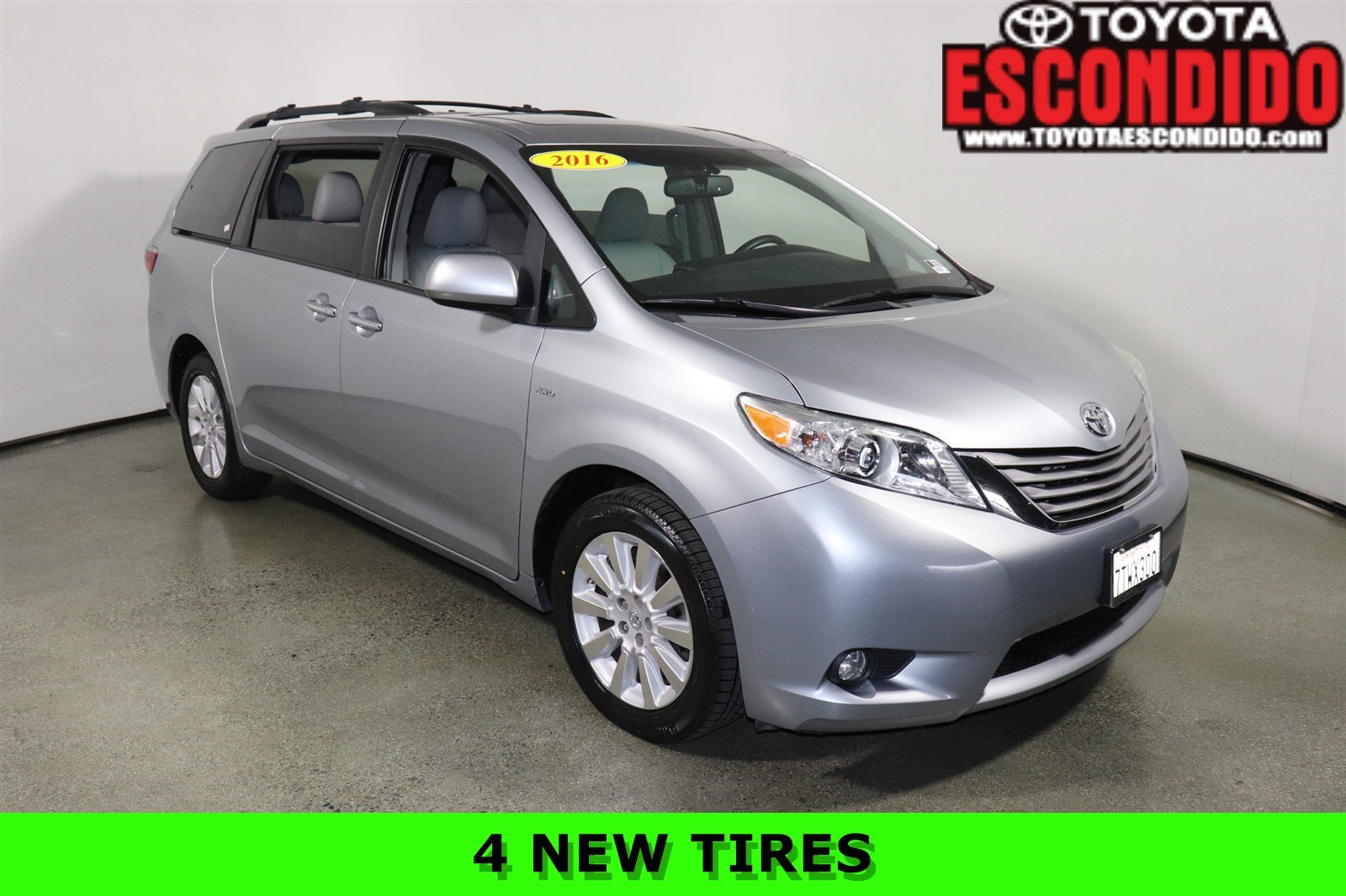 Certified Pre-Owned 2016 Toyota Sienna
