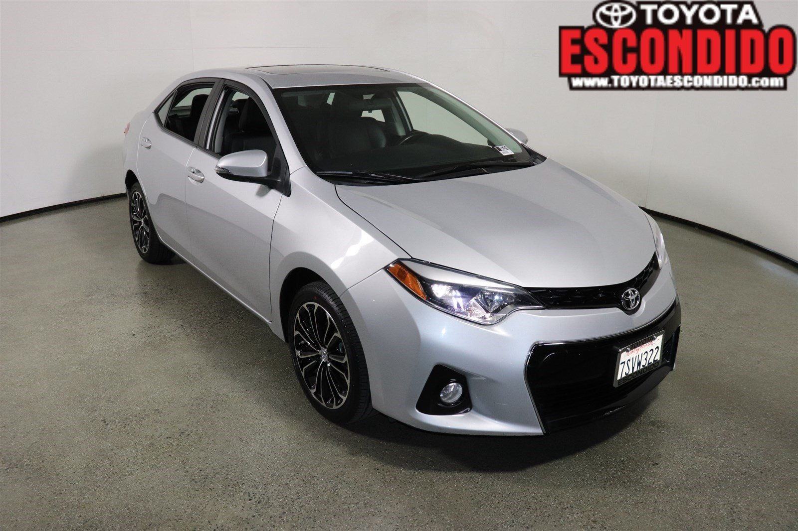Toyota Corolla S Plus >> Certified Pre Owned 2016 Toyota Corolla S Plus 4dr Car In Escondido