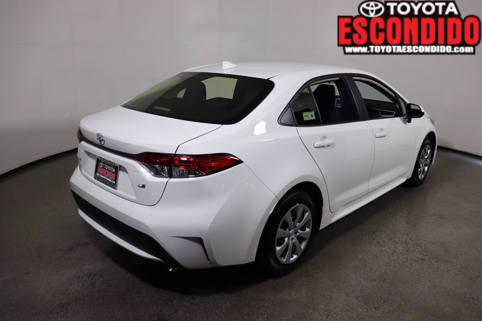 new 2021 toyota corolla le 4dr car in escondido #1027537