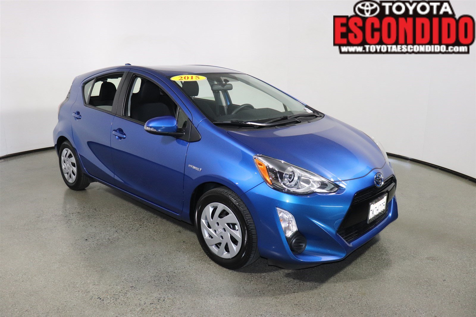 Certified Pre-Owned 2015 Toyota Prius c