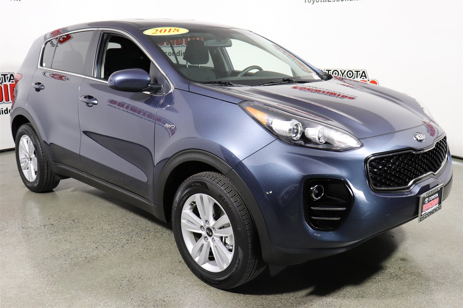 Kia Escondido Service >> Pre-Owned 2018 Kia Sportage LX Sport Utility in Escondido ...